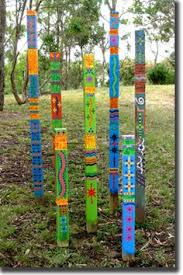 garden pole. Crafty Garden Poles Totems I Would Bet These Be Easy To Make Some 2 X Pole