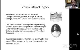 """Beronda Montgomery on Twitter: """"Been meaning to shared this @michiganstateu  historical fact shared by @themorgantrail in his #BlackBotanicalLegacy talk  for @HFandG incl his family's Sedalia MO history. Myrtle Craig Mowbray as  1st"""