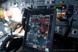 Ipad Efb Electronic Flight Bag Setting Up For The Landin