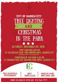 savannah holidays 2018 garden city tree lighting in the park festival