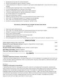 2nd Assistant Camera Resume | Resume Format Download Pdf
