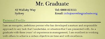 Resumes Personal Statements How To Write A Personal Statement Save The Graduate