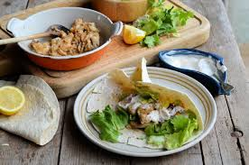 Low-Calorie Spicy Mexican Fish Wraps Recipe