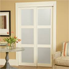 reliabilt 3 lite frosted glass sliding closet interior door