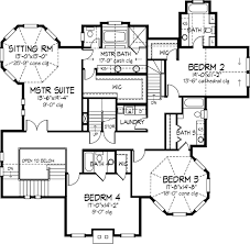 back stairs!!!!!!!!!!!!!!!!!!!!!! second floor plan of country Country Style Home Plans second floor plan of country victorian house plan 57563 love this except that the library and reading area are 2 floors apart country style home plans with porches
