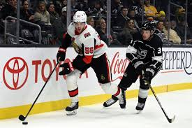 Los Angeles Kings Buyout Dion Phaneuf Silver Seven