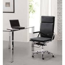 lider plus high back black office chair black office chair