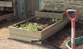 how to build a raised garden bed see