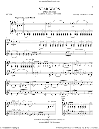 The arrangement is written in a way that gives the piece a full sound while. Williams Star Wars Main Theme Sheet Music For Two Violins Duets Violin Duets