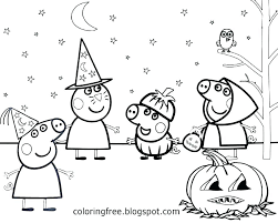 Peppa Pig Color Pages Pig Coloring Pages Printable Of Children