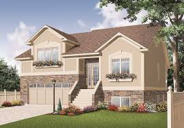 split foyer house plans. #126-1145 · This Is The Front Elevation For These Split-Level House Plans. Split Foyer Plans L