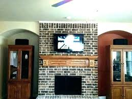 mounting tv over fireplace television mounting over the fireplace and how