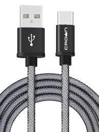 <b>Кабель</b> Crown <b>USB</b> - <b>USB</b> Type-C CMCU-3072C Crown Micro ...