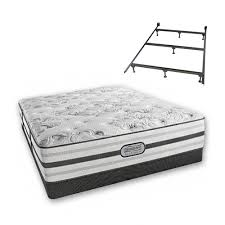 beautyrest recharge box spring. Beatrice King Size Plush Mattress And Low Profile Box Spring Set With Frame Beautyrest Recharge Platinum I