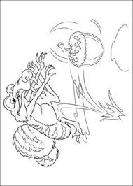 Small Picture ice age animals coloring page Cartoon Pinterest Ice age
