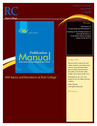 Apa Manual 6th Edition Online Ataumberglauf Verbandcom
