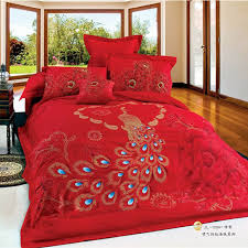 awesome chinese wedding peacock phoenix print oriental bedding set queen asian bedding sets comforters remodel