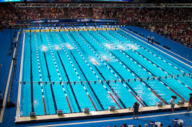 olympic swimming pool lanes. Brilliant Swimming Theyu0027re Burning It To The Wall On Last 50 Meters Freestyle Leg Of  Menu0027s 200 IM Ryan Is Ahead With Michael Close Behind In Lane Four Intended Olympic Swimming Pool Lanes M
