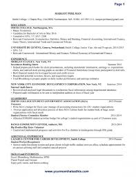 Resume How To Write Your First In High School Teenager Without