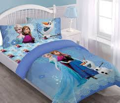 disney frozen springtime frost comforter set with fitted sheet