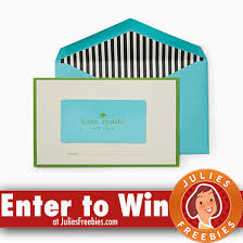 here is an offer where you can enter the kate spade giveaway from town country