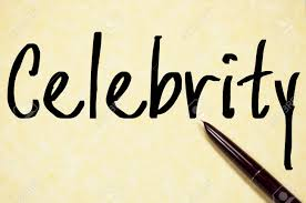 Celebrity Word Write On Paper Stock Photo Picture And Royalty Free