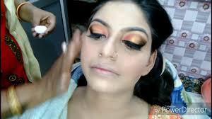 real bridal makeup hindi