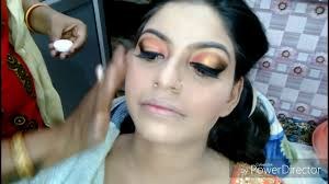 real bridal makeup hindi