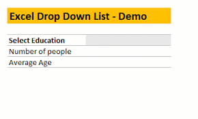 Excel Basics How To Add Drop Down List To A Cell To
