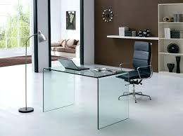contemporary glass office furniture. Modern Glass Office Desk Large Computer Corner Contemporary All Planning Executive . Furniture K