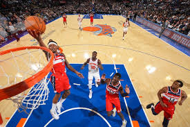 Msg Knicks 3d Seating Chart Wizards Run By Knicks In Third Preseason Game 115 99