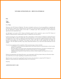 8 Hire Letter Template Management On Call
