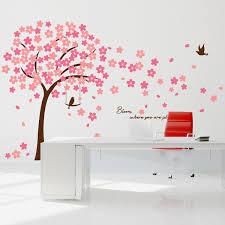 wall art office. Cherry Blossom Wall Art Office