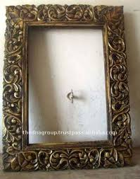 wood mirror frame. Hand Carved Decorative Wood Mirror Frame - Buy Frame,Hand Wooden Frames,Decorative Product On