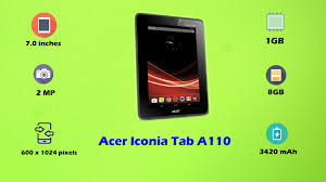 Acer Iconia Tab A110 Price, All ...