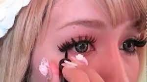 04 14 dramatic gyaru eye makeup tutorialギャル