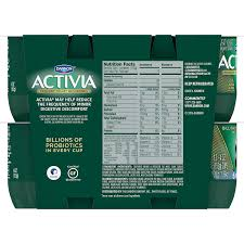 dannon activia lowfat yogurt strawberry blueberry variety pack 4 ounce pack of 12 lowfat probiotic yogurt snack amazon grocery gourmet food