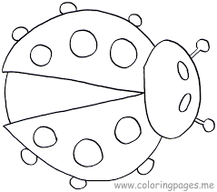 Small Picture Free Printable Ladybug Coloring Pages For Kids Animal Place