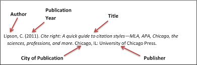 Example Of Photo Or Clipart Apa Citation Collection