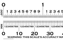 Film Gauge Chart Transparent 6 Transparency For Defects And Measuring Flaw