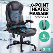 8 point massage office chair racing executive heat