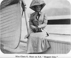 Clara Hays, who unlike her husband, Charles Melville Hays - survived the  sinking of the Titanic. | Titanic survivors, Titanic, Rms titanic