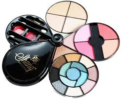 shany makeup kit. shany flower makeup palette deluxe kit 44 pieces by cosmetics model sh9194 shany a