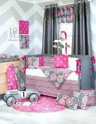 pink and gray nursery bedding bright pink girl bedding teal hot pink gray crib throughout by pink and gray nursery bedding