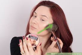 image led apply natural makeup for step 11