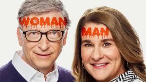 Because satan is a myth, just like santa. Transvestigation Bill Gates Is A Woman Youtube