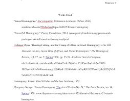 Literary Analysis Sample Paper