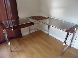 Glass Desk Office Furniture  SafarihomedecorcomGlass Desk Office