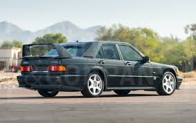 The 2.5 litre high compression engine 16v's were not imported to the us. 1990 Mercedes Benz 190e 2 5 16 Evolution Ii Gooding Company