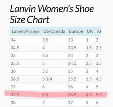 Lanvin Size Chart Gold Leather Ballet Flats